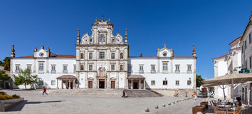 Santarem Widzii katedry Nossa Senhora da Conceicao aka kościół Obrazy Stock