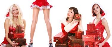 Santas Stock Image