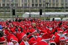 Santas Royalty Free Stock Photography
