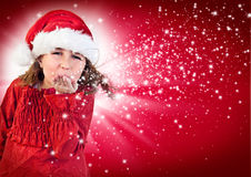 Santas 8 Royalty Free Stock Image