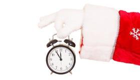 Santas Alarm Clock Stock Image