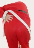 Santas Back Royalty Free Stock Photos