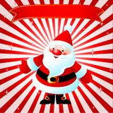 Santas background Royalty Free Stock Photos