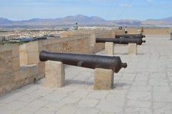 Santas Barbara kanoner Royaltyfria Foton