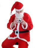 Santas camera Royalty Free Stock Images