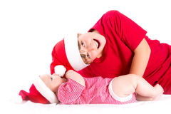 Santas Stock Photos