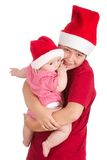 Santas Royalty Free Stock Photos