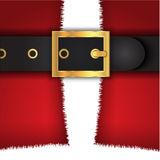 Santas coat background Royalty Free Stock Photography