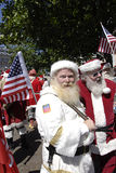 SANTAS CONFERENCE Stock Photography