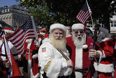 SANTAS CONFERENCE Stock Images