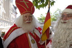 SANTAS-CONFERENTIE Royalty-vrije Stock Foto