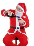 Santas Drink Stock Photography