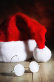 Santas exponeringsglas Arkivbilder