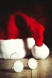 Santas exponeringsglas Arkivbild