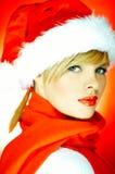 Santas Girl Stock Photo