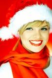 Santas Girl Stock Image