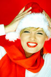 Santas Girl Stock Photography
