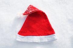 Santas hatt Arkivbilder