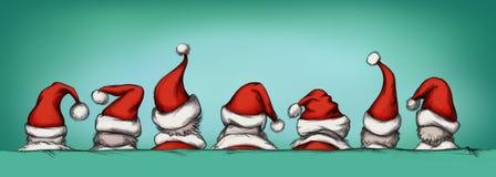 Santas Royalty Free Stock Images