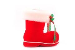 Santas känga Royaltyfria Foton