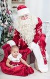 Santas Nicolais påse arkivfoto