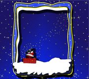 Santas night eve Royalty Free Stock Photo