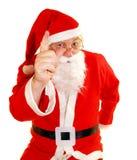 Santas NO Royalty Free Stock Images