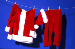 Santas outfit Royalty Free Stock Images