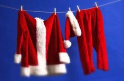 Santas outfit Royalty Free Stock Image