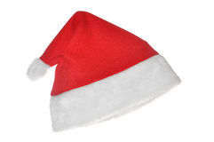 Santas red hat Stock Images