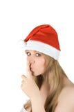 Santas secret Royalty Free Stock Photos
