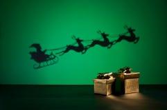 Santas sledge Stock Image