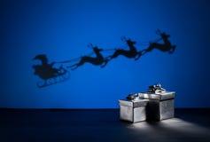 Santas sledge Royalty Free Stock Photo