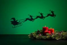 Santas sledge Royalty Free Stock Image