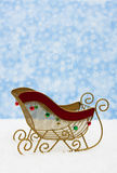 Santas Sleigh Royalty Free Stock Photography