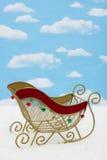 Santa�s Sleigh Royalty Free Stock Photography