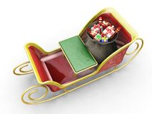 Santas sleigh Royalty Free Stock Photos