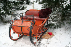 Santas sleigh 2 Royalty Free Stock Photography