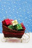 Santas Sleigh Royalty Free Stock Photo