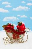 Santas Sleigh Royalty Free Stock Photos