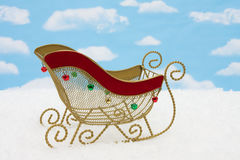Santas Sleigh Royalty Free Stock Images