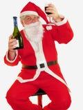Santas Toast Royalty Free Stock Photo