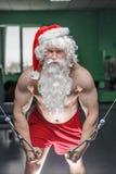 Santas utbildning Arkivbilder