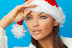 Santas Wife Royalty Free Stock Photography