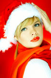 Santas Woman Royalty Free Stock Images