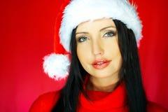 Santas Woman 2 Royalty Free Stock Image