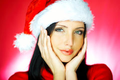 Santas Woman 2 Royalty Free Stock Photos