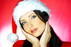 Santas Woman 2 Royalty Free Stock Images