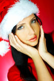 Santas Woman 2 Stock Photo