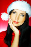 Santas Woman 2 Stock Image